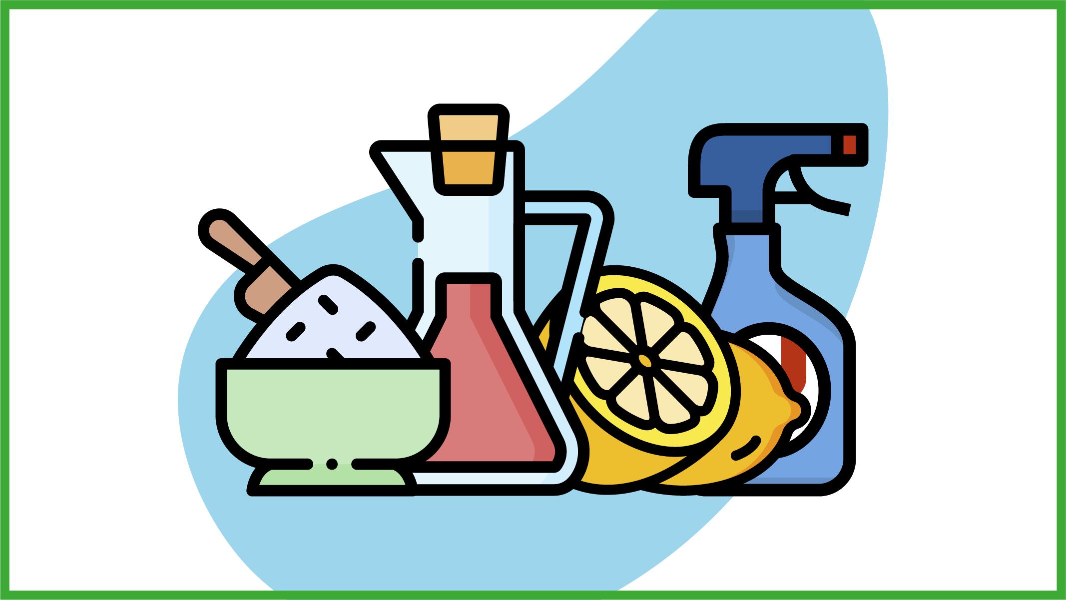 Pulire cucina e utensili in modo naturale