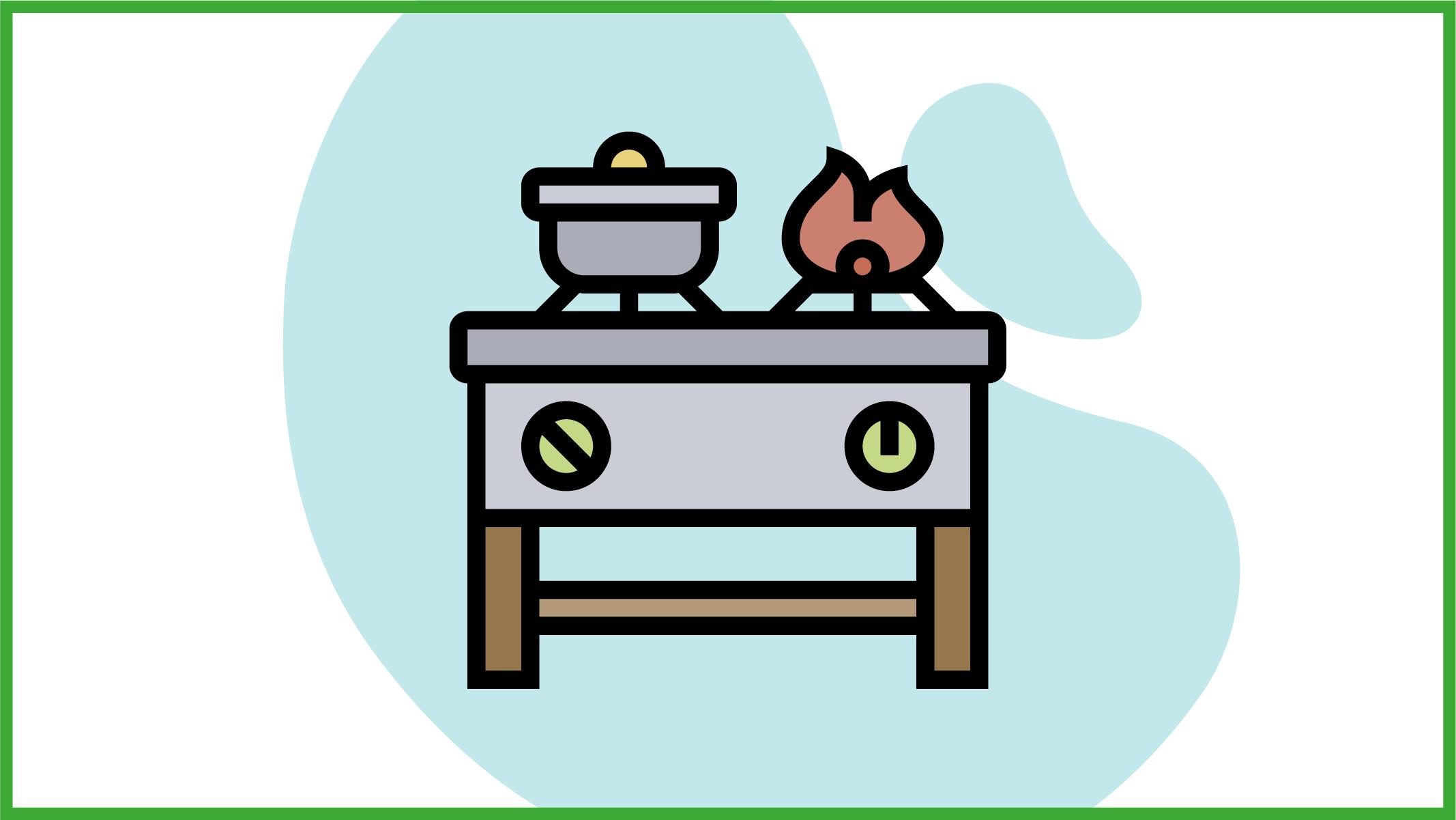 Immagine di una cucina economica