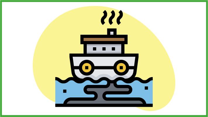 Tonnellate di petrolio in mare