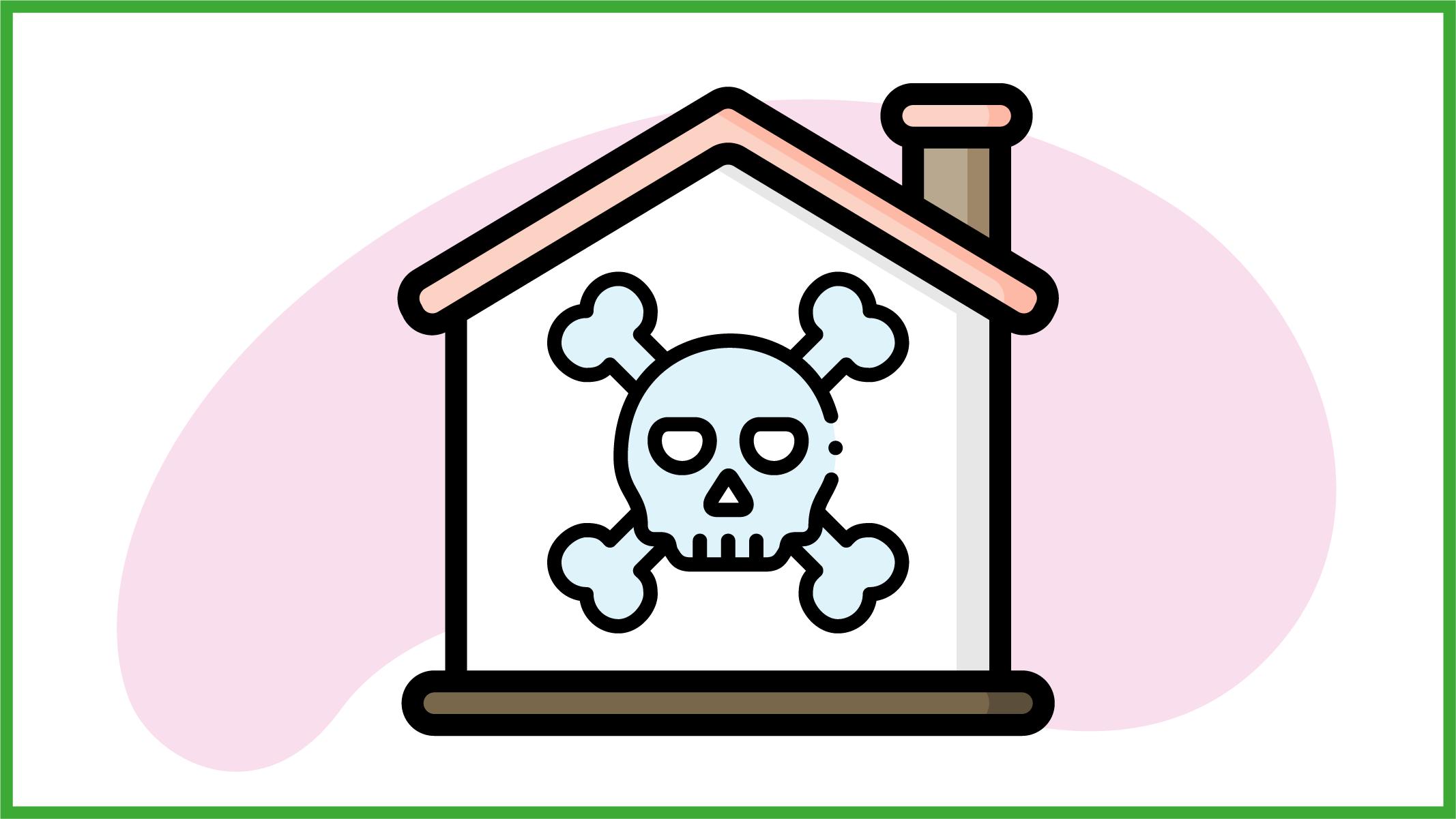 abitazione inquinata