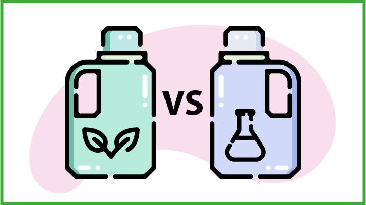 Differenze tra detersivi tradizionali e biologici