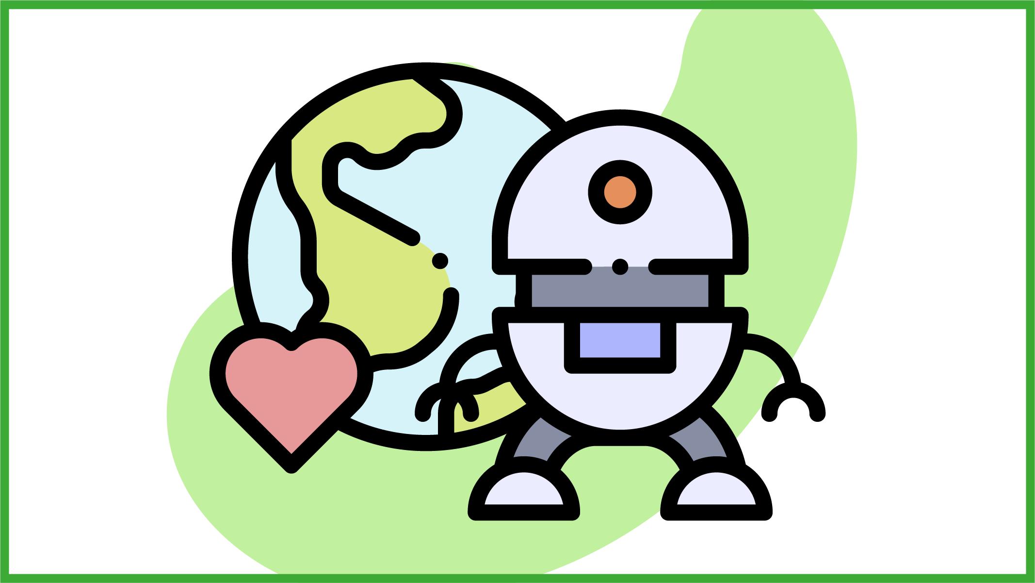 Robot a sostegno dell'ambiente