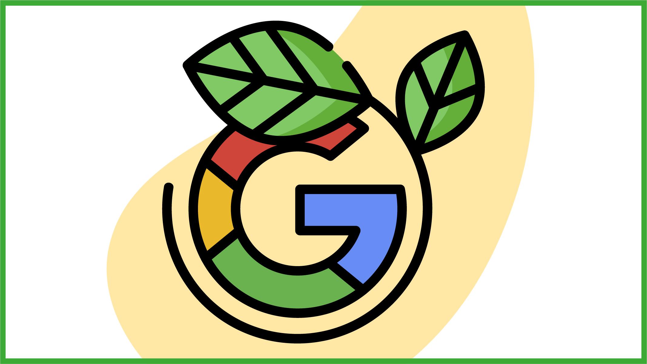 """L'azienda più """"green"""" è Google"""