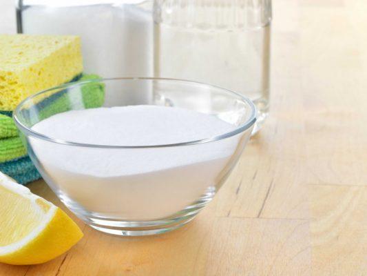 come pulire col bicarbonato