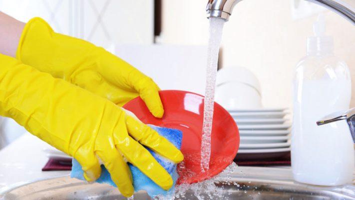 verdevero lavare i piatti a mano