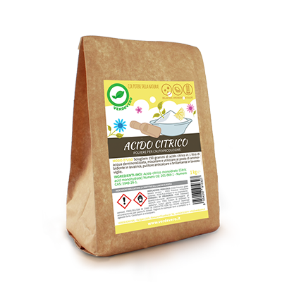 te detersivi fai da te gli ingredienti acido citrico 1kg