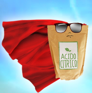 acido citrico supereroe