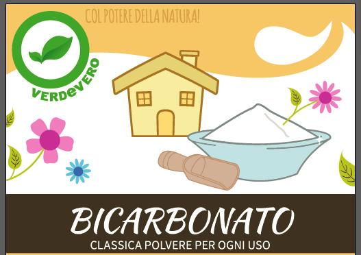 etichetta bicarbonato