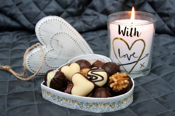 cioccolatini sul divano