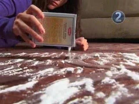 bicarbonato per pulire i tappeti