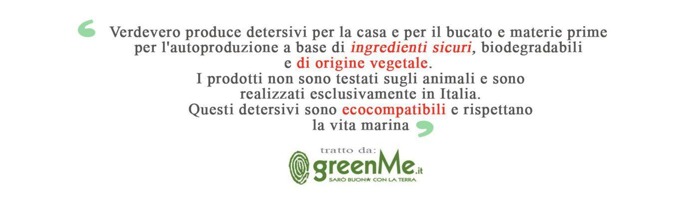 greenme per verdevero