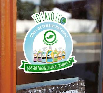 adesivo verdevero negozi