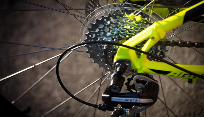 catena bici foto