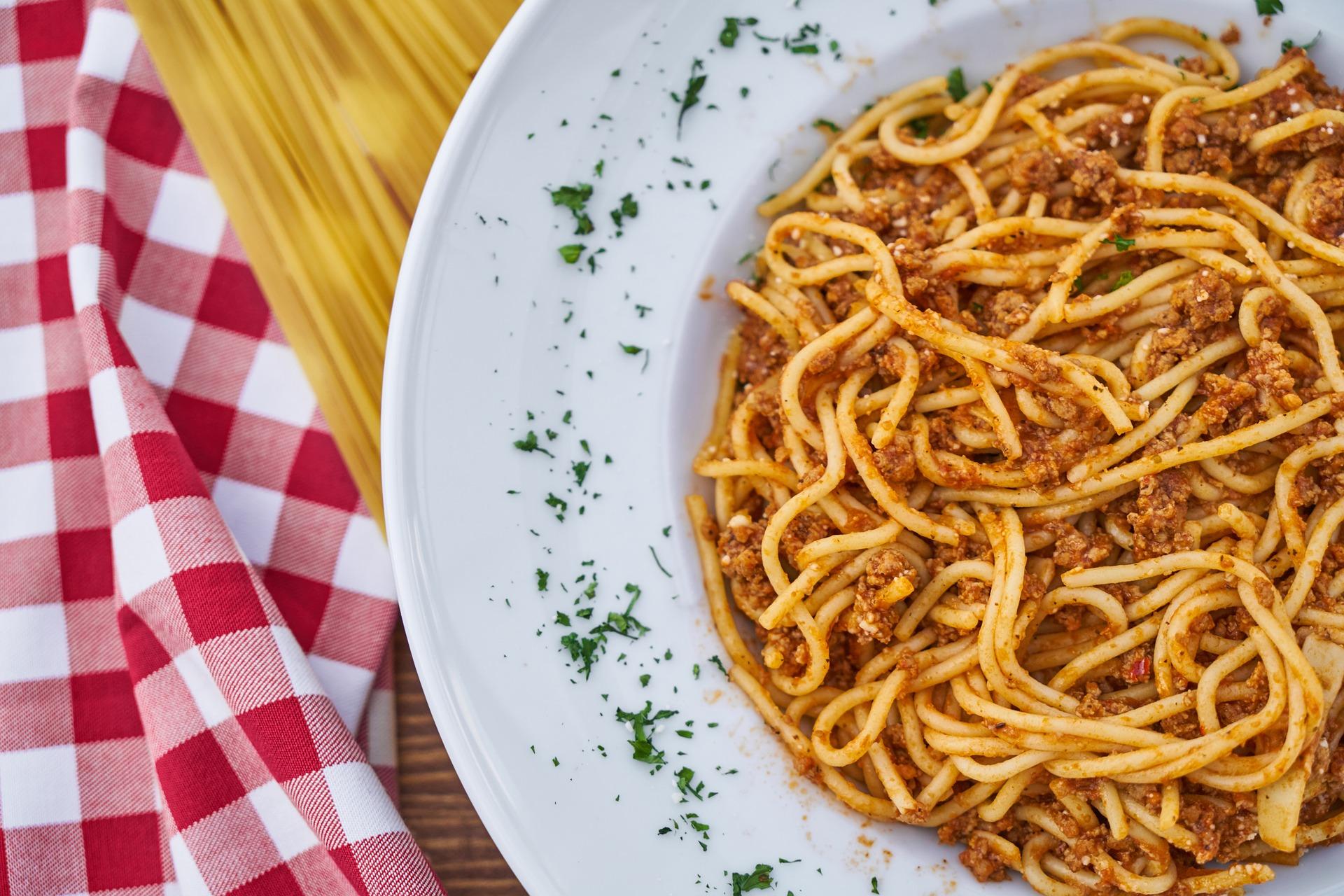 foto spaghetti al sugo