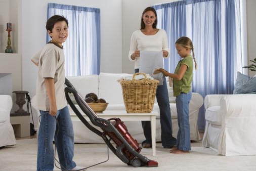 famiglia pulizie