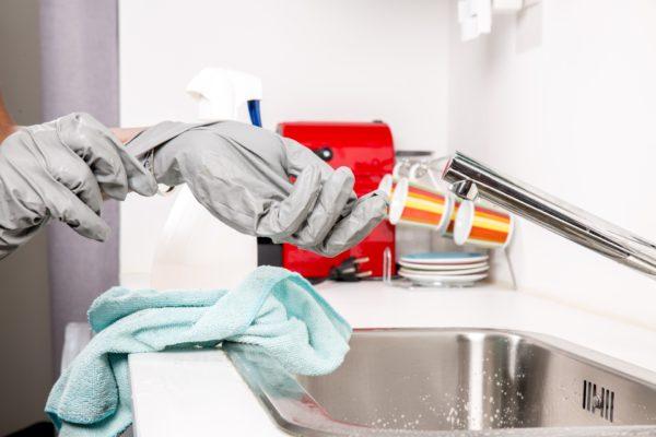 foto guanti pulizie