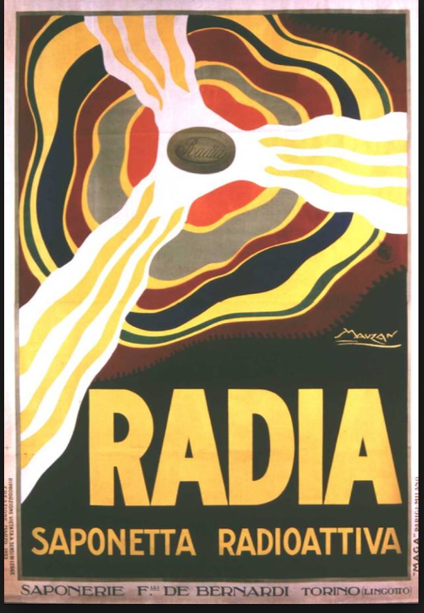 radia saponetta radioattiva