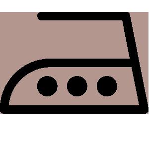 Risultato immagini per simboli lavaggio stiro alta temperatura