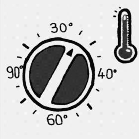 lavaggio e temperature
