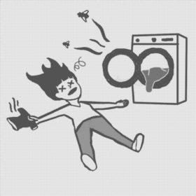 lavatrice che puzza immagine