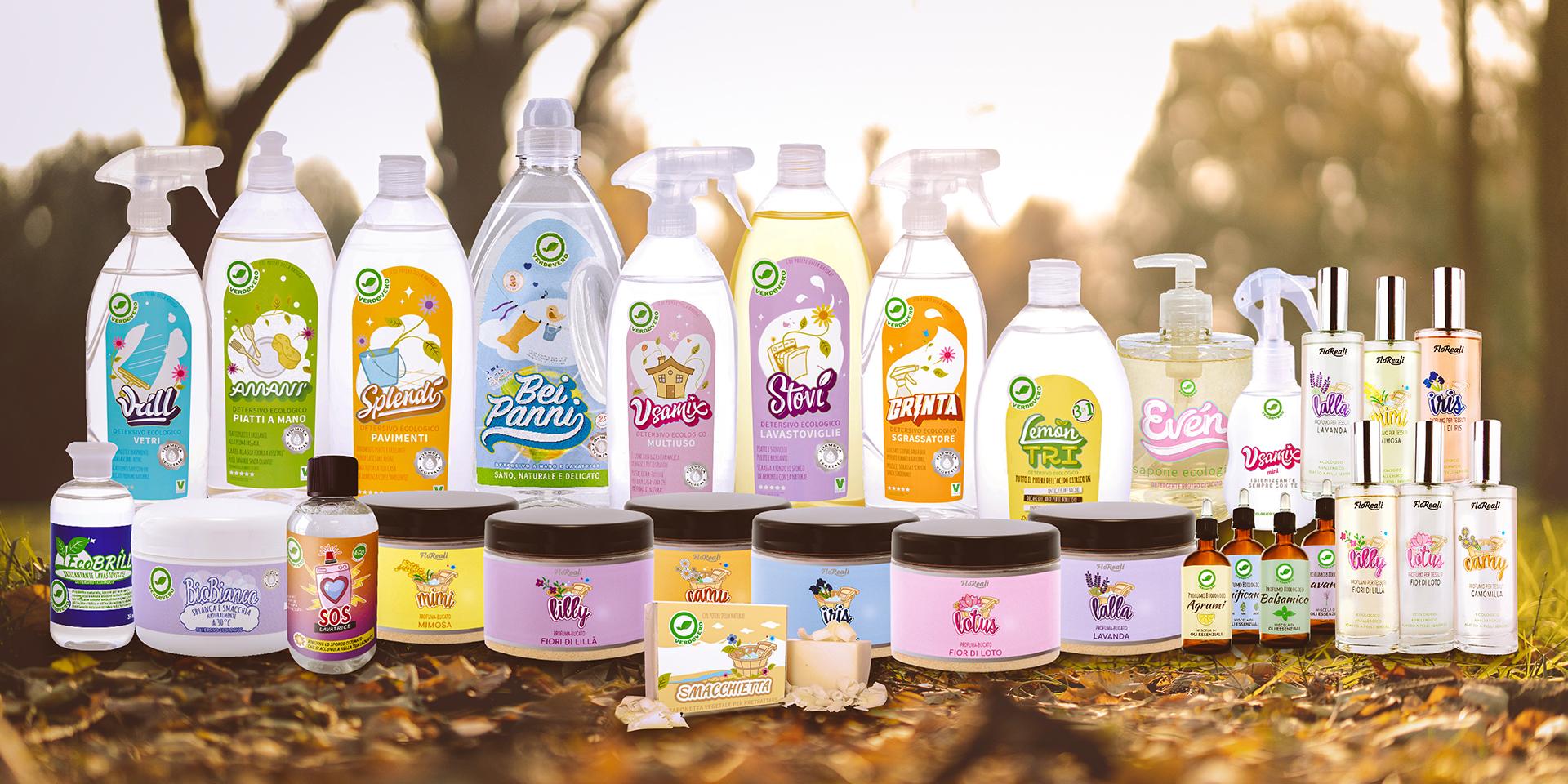Detersivi ecologici tutti i nostri prodotti
